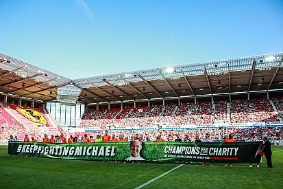 Galería: partido de homenaje a Michael Schumacher
