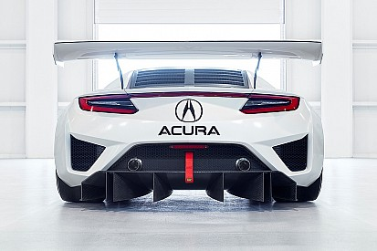 Bildergalerie: Neue Aufnahmen vom Acura NSX GT3