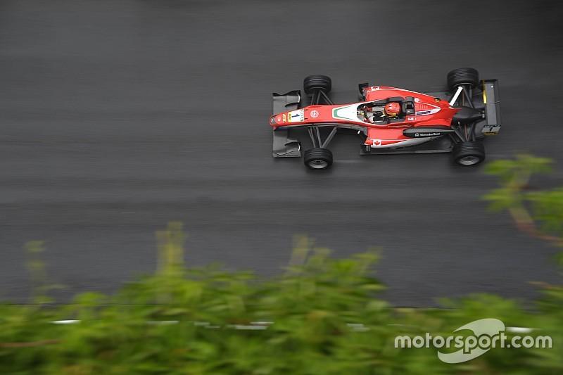 F3 Spa: Stroll dominant in regenachtige kwalificatie