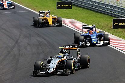 Perez critica atuação de Verstappen em duelo com Kimi