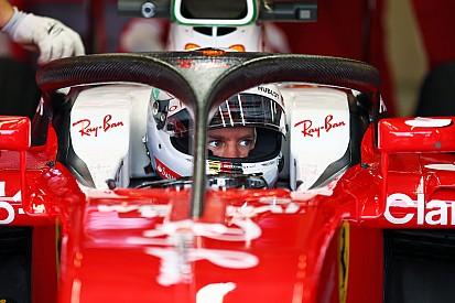 """Vettel assure que """"90 à 95% des pilotes"""" sont pour le Halo"""