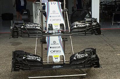 Análise Técnica: a asa dianteira da Williams
