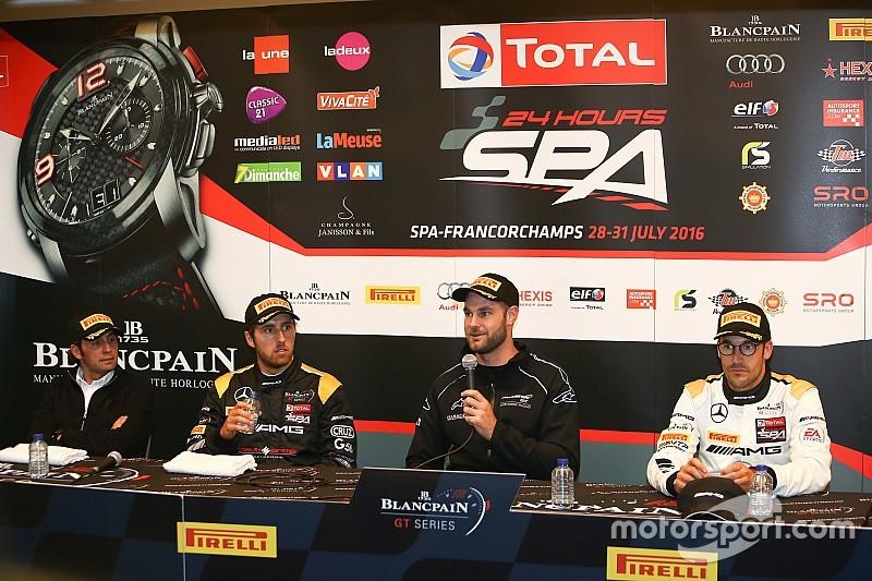 McLaren in pole provvisoria in Belgio con Van Gisbergen