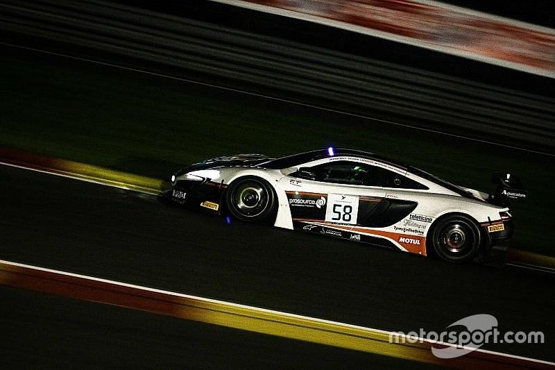 Van Gisbergen met McLaren en pole provisoire