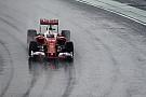 Vettel test als eerste met de bredere 2017-banden