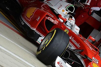 Sebastian Vettel testet als erster Formel-1-Fahrer die Pirelli-Reifen für 2017