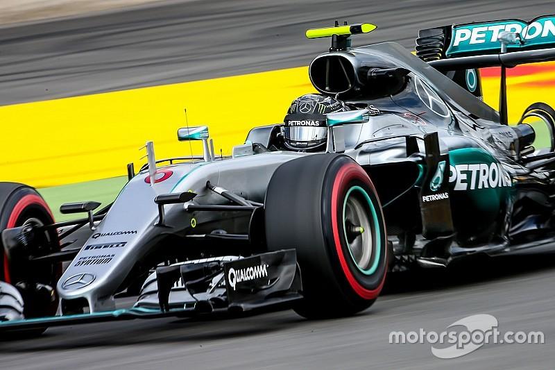 Rosberg repite en los segundos libres de su país