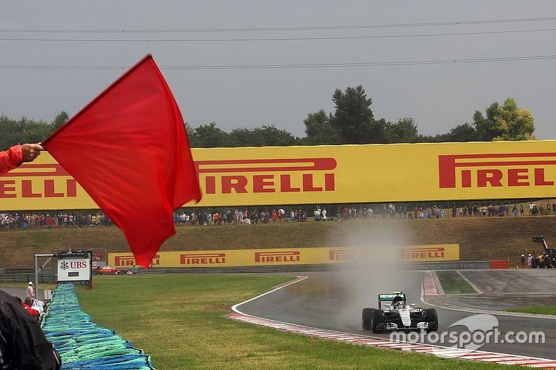 FIA将在排位赛中用红旗取代双黄旗