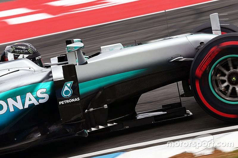 Rosberg conclui domínio dos treinos livres na Alemanha