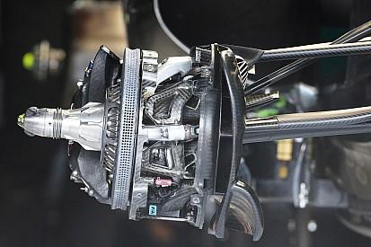 Teknik analiz: Mercedes, 'deniztarağı' fren diskiyle sınırları zorluyor