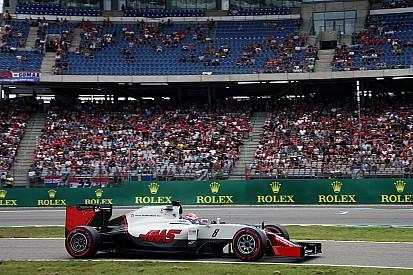Grosjean perde cinco posições no grid para o GP da Alemanha