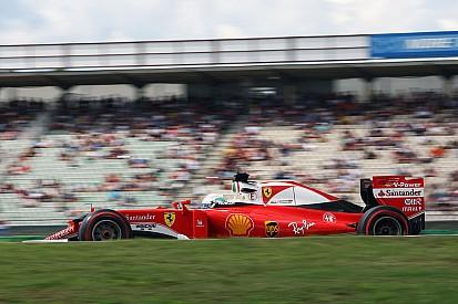 """Vettel: """"No estamos aquí para terminar quinto y sexto"""""""