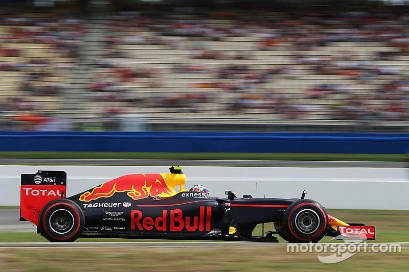 Verstappen, sorprendido por la diferencia con Mercedes