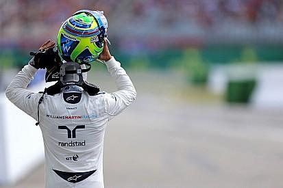"""No Q3, Massa se diz """"muito feliz"""" com volta e ritmo de prova"""
