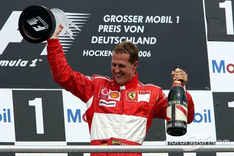 La última victoria de Schumacher en Alemania