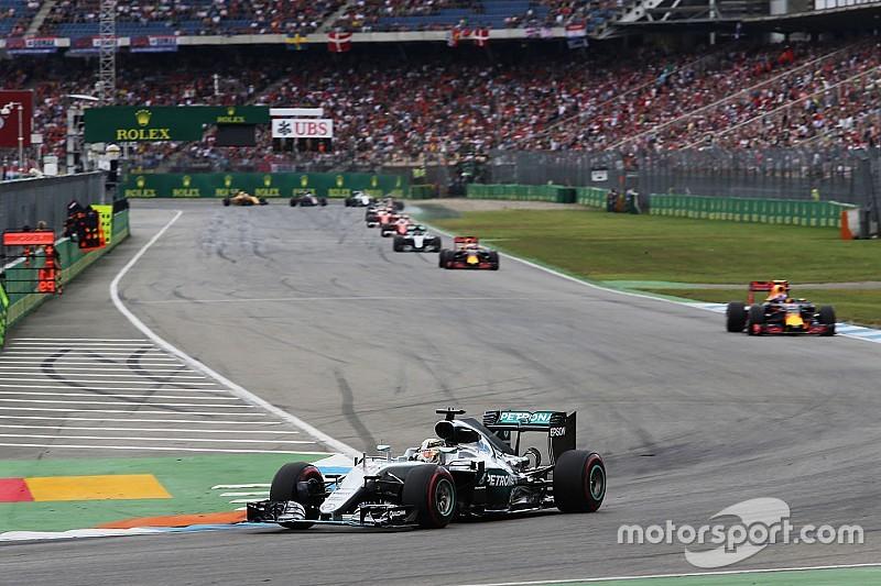 德国大奖赛:汉密尔顿实现四连冠,红牛反超法拉利