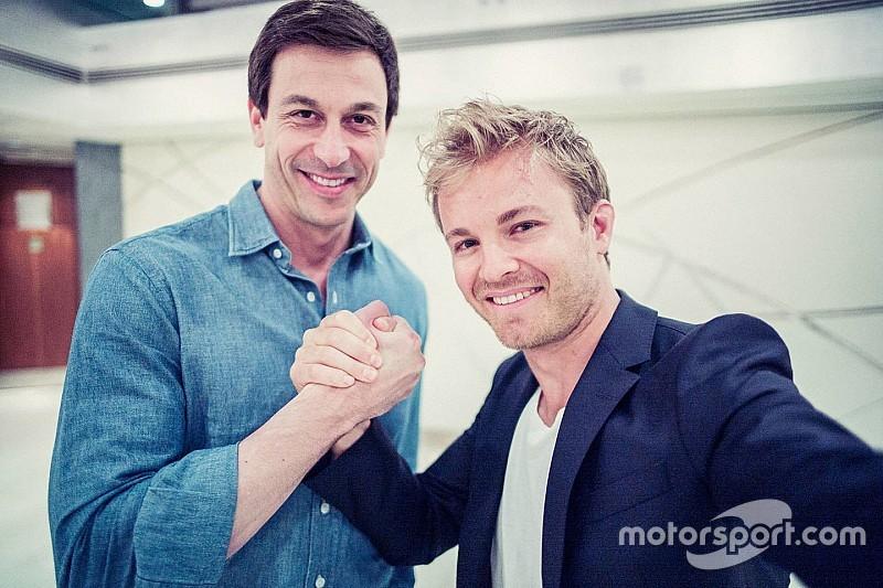 """Wolff - Rosberg, """"un être humain dans la voiture"""""""