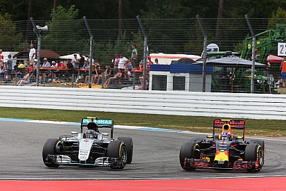 Verstappen et Rosberg, chacun son interprétation