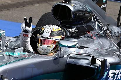 Hamilton, vainqueur malgré l'économie moteur à tout prix