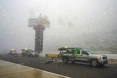 La pioggia obbliga a posticipare la gara di Pocono