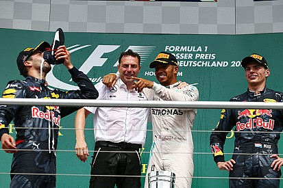 Stats - Hamilton, Ferrari, Ricciardo... les chiffres après l'Allemagne!