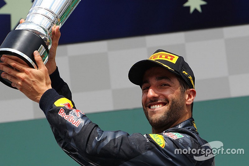 Ricciardo verkozen tot Driver of the Day in GP van Duitsland