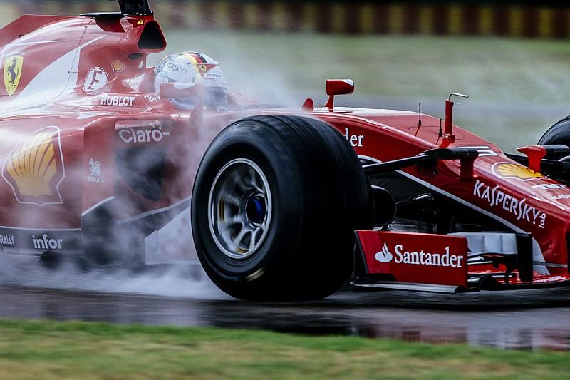 Test Pirelli a Fiorano: Binotto e Resta al debutto delle gomme larghe