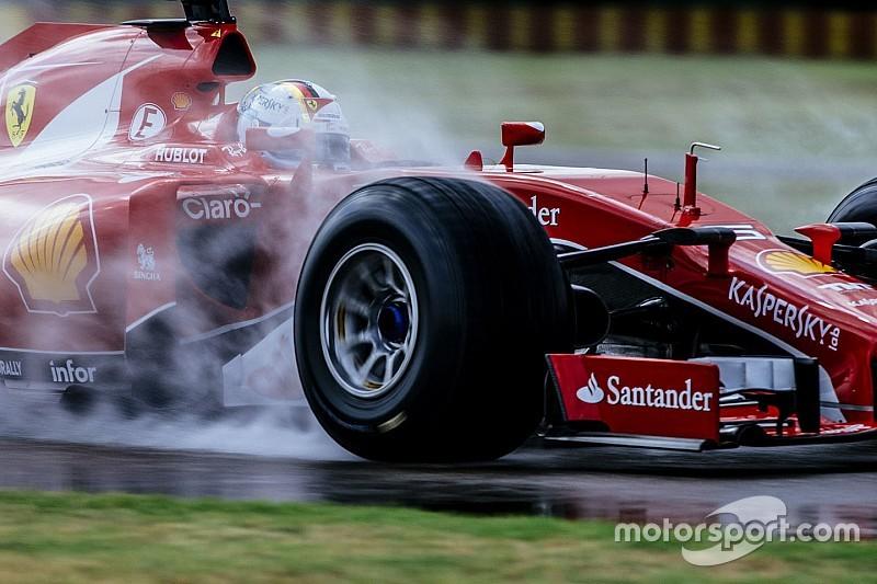 Ferrari, 2017 lastikleriyle ilk testi tamamladı