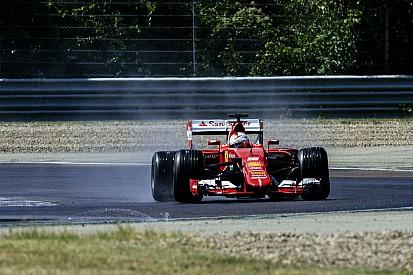 Le test de Vettel avec les nouveaux pneus Pirelli en images