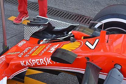 Tech rapport: Ferrari's zoektocht naar antwoorden over downforce