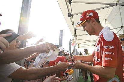Vettel: Hockenheim'da seyirci ve atmosfer harikaydı
