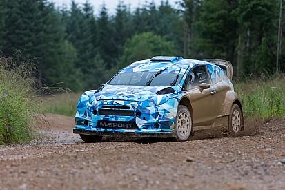 La M-Sport inizia i test della Ford Fiesta RS WRC 2017