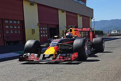 Test Pirelli 2017: altri 92 giri al Mugello senza intoppi per la Red Bull