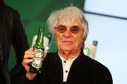 Ecclestone - Heineken a choisi la F1 en partie grâce à Verstappen