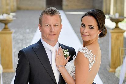 Kimi Raikkonen se casa em Abadia na Toscana