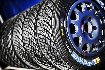 Michelin ha preparato una nuova mescola da bagnato per il Rally di Germania