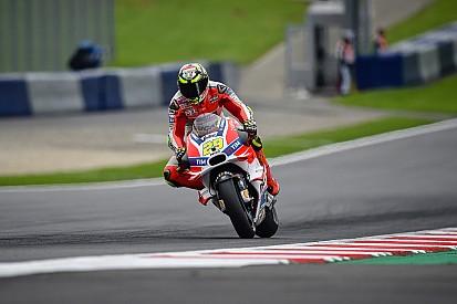 Iannone e Laverty se desentendem após treino da MotoGP