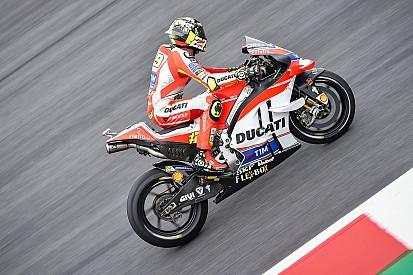 Avusturya GP: Iannone en hızlı isim, Marquez ciddi bir kaza geçirdi