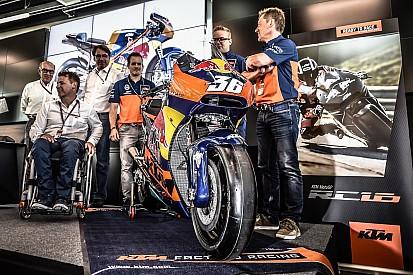 Fotogallery: la presentazione ufficiale della KTM RC16 al Red Bull Ring