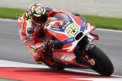 Avusturya GP: Andrea Iannone pole pozisyonunda, Yamaha çok yakın!