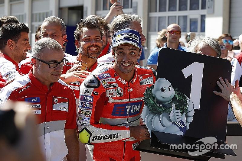 Course - Un jour à marquer d'une pierre Rouge et Blanche pour Ducati