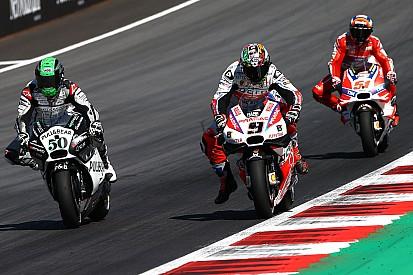Petrucci perde 3 posizioni in griglia a Brno per il crash con Laverty
