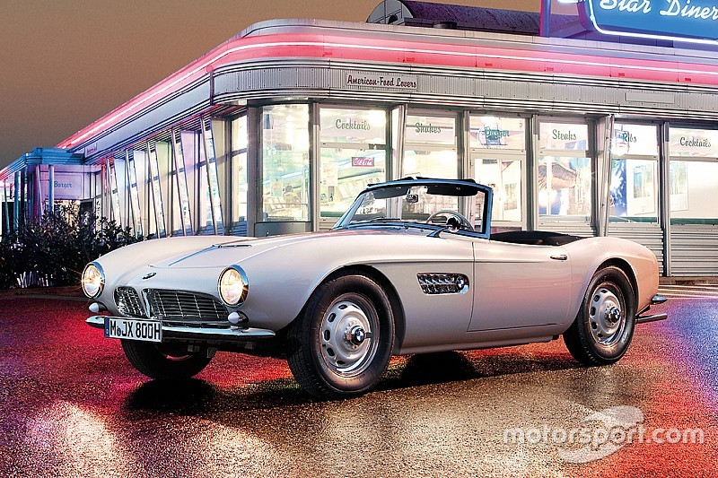 Galería: el restaurado BMW 507 de Elvis Presley