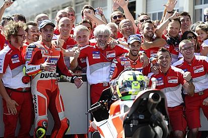 Un grand jour entre satisfaction et soulagement chez Ducati