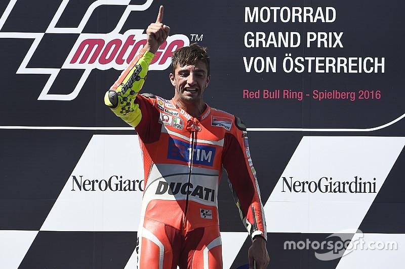Iannone nella storia Ducati: è il quarto a vincere in MotoGP