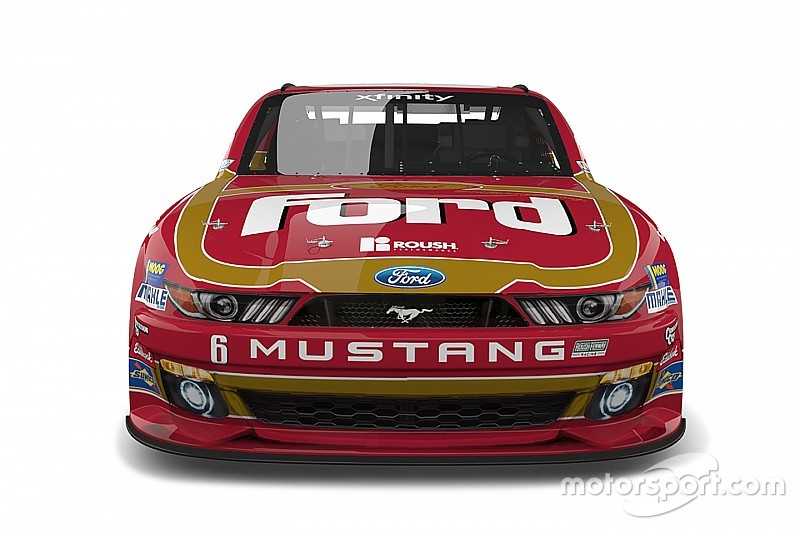 Bildergalerie: Throwback-Design für Darrell Wallace Jr. in Darlington