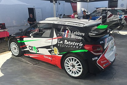 Ecco la DS3 privata di Stéphane Lefebvre per il Rally di Germania