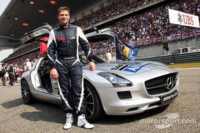 Piloto do Safety Car diz que jamais pensou em correr na F1