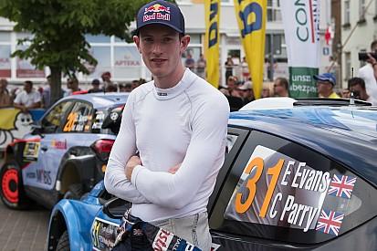 Evans punta a tornare in WRC nel 2017, ma dovrà fare i conti con Tanak