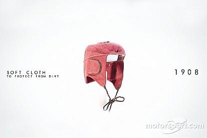 Vídeo: a evolução dos capacetes no esporte a motor